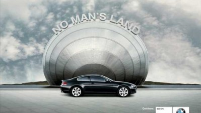 BMW with GPS - No man's land