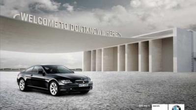 BMW with GPS - Welcome to dontknowwhere