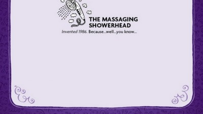 Cadbury Thins - Massaging Showerhead
