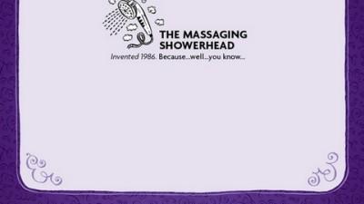 Cadbury Thins - Massaging Showerhead
