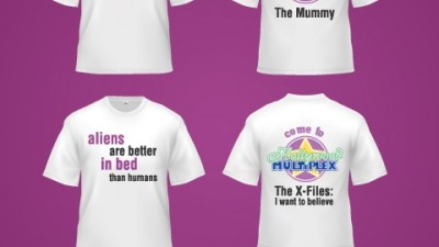 Hollywood Multiplex - Teasing t-shirts