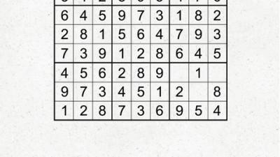 Kit Kat Mini - Sudoku