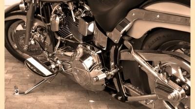Miller - Miller branding @ Harley Davidson showroom