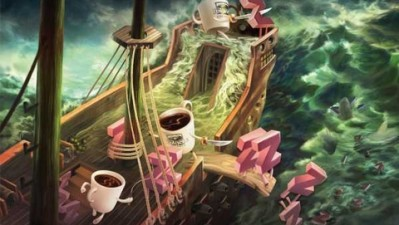 Folgers Coffee - The Zzzz to the sharks