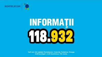 Romtelecom - 118.932 Informatii (IV)