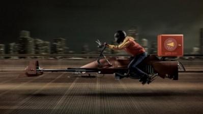 Cine Pizza - Gun Bike