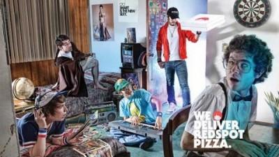 Redspot pizza delivery - Dorm