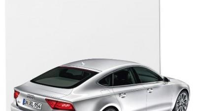 Audi A7 - Foaia alba de hartie