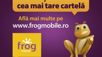 Cartela Frog (Cosmote) - Acum tii in mana cea mai tare cartela
