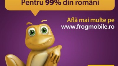 Cartela Frog (Cosmote) - Se poarta acoperirea