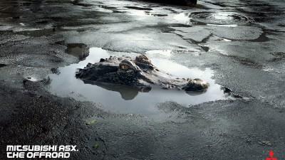 Mitsubishi ASX - Crocodile