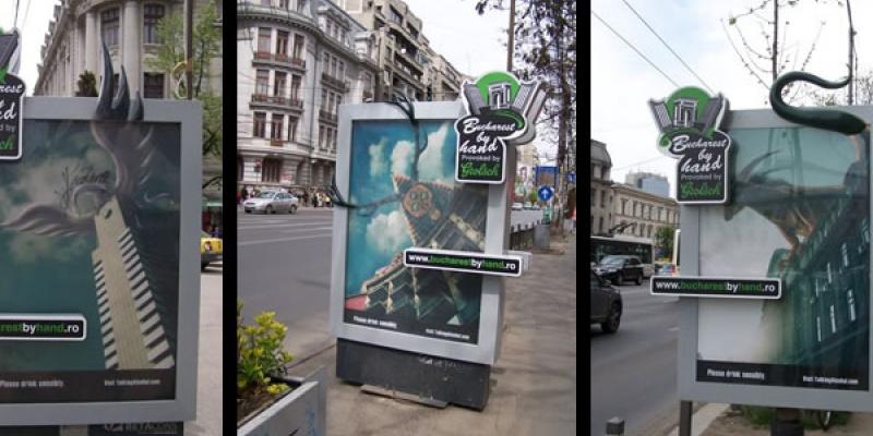 In doua luni de la lansare, pe bucharestbyhand.ro au fost incarcate peste 300 de lucrari artistice