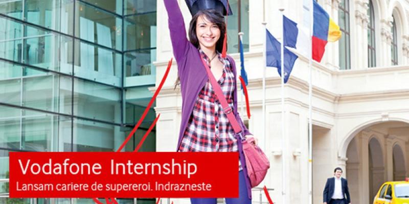 """Vodafone Internship"": stagii platite adresate studentilor si masteranzilor pasionati de tehnologie sau marketing online"