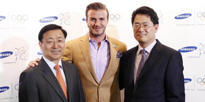 David Beckham, ambasador de brand pentru Samsung la Jocurile Olimpice