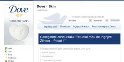 """Dove organizeaza sesiune de live chat pe Facebook cu un specialist dermatolog in cadrul campaniei """"Ritualul tau de ingrijire zilnica in 5 pasi"""""""