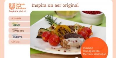 "the Syndicate promoveaza Unilever Food Solutions prin campania ""Inspira un aer original"""