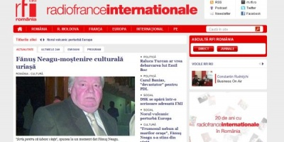 La aniversarea de 20 de ani, RFI introduce o noua versiune a site-ului oficial si a mobisite-ului