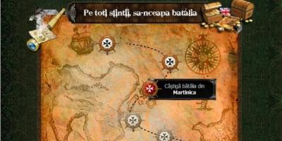 """Aplicatia de Facebook """"Piratii din Caraibe"""": peste 4500 de utilizatori in primele 24 de ore de la lansare"""