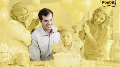 3M Post-it - Birthday Party