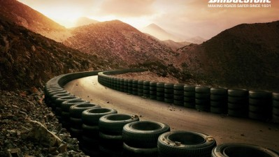 Bridgestone Tyres - Cliff Hairpin
