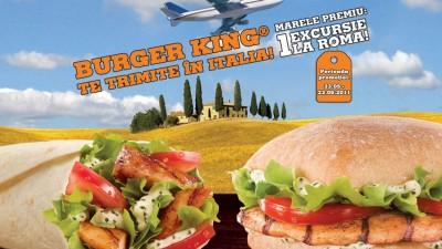 Burger King - Prinde gustul Italiei