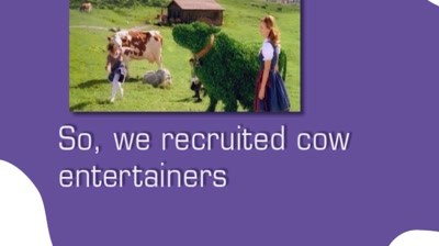 Case Study: Milka - Cow entertainers