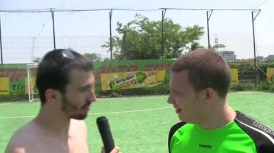 Cupa Agentiilor la Fotbal Bergenbier 2011 - Interviurile CAF: Mircea Mester vs Toma Nicolau [Echipa Bloggerilor]