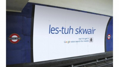 Google - Voice Search Mobile App - LEICESTER SQUARE