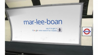 Google - Voice Search Mobile App - MARYLEBONE