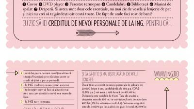 ING Bank – Vis si facut (flyer)
