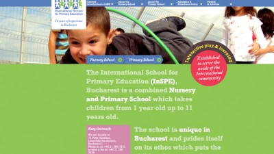 International School for Primary Education - Website