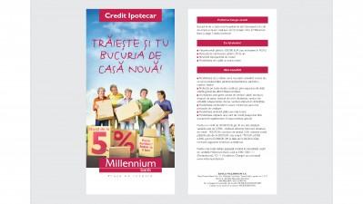 Millennium Bank - Bucuria de casa noua (flyer)