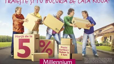 Millennium Bank - Bucuria de casa noua (OOH)