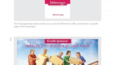 Millennium Bank - Bucuria de casa noua (print)