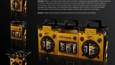 Miller Beer - Boombox
