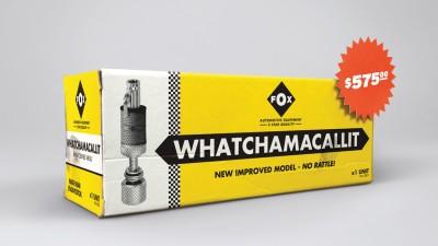 Peugeot - Genuine Parts: Whatchamacallit