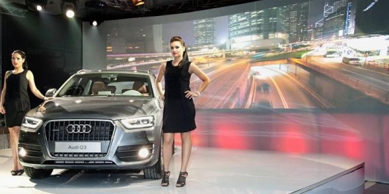 """Evenimentul de prelansare a noului model Audi Q3 organizat de ICON Advertising a avut tema """"urbanism"""""""