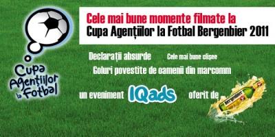 Cele mai bune momente filmate la Cupa Agentiilor la Fotbal Bergenbier 2011