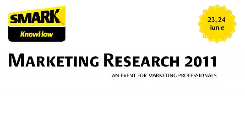 SMARK KnowHow: Marketing Research 2011 - cel mai mare eveniment al anului despre industria cercetarii de piata