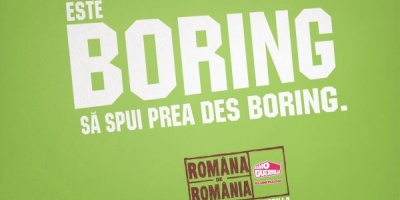 """Romana de Romania - Un demers Radio Guerrilla pentru o vorbire frumoasa"", o campanie initiata de Radio Guerrilla si dezvoltata impreuna cu Propaganda"