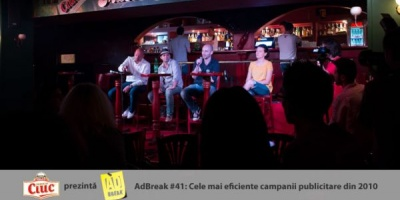 [AdBreak #41] Reprezentanti McCann, Papaya si Odyssey despre campaniile lor castigatoare la Effie 2011 si despre jurizare