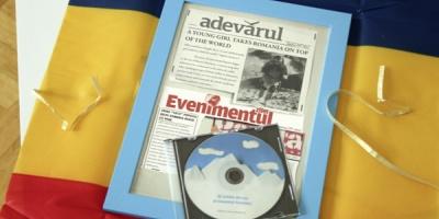 """Nominalizare la Cannes Lions 2011, in sectiunea PR, pentru GMP, cu """"News from the future"""", campanie pentru alpinista Crina Coco Popescu"""