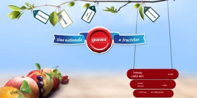 Granini a sarbatorit Ziua Nationala a Fructelor in Herastrau