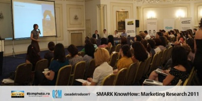 [SMARK KnowHow: Marketing Research 2011] Shopper Trends: despre intelegerea cumparatorului cu specialisti de la GfK Romania, Daedalus Group, Grey - G2 si Saatchi & Saatchi X
