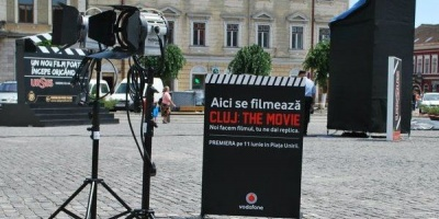 """""""Cluj: The Movie"""", conceput de DRAFTFCB pentru Vodafone, in completarea campaniei outdoor semnate McCann"""