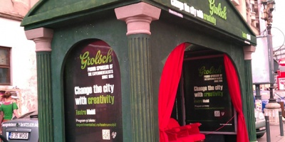 Teatru in autobuz, cinema la metrou si muzica live in intersectii: Grolsch isi propune sa schimbe orasul prin creativitate