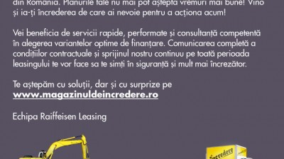 Raiffeisen Leasing - Incredere (direct mail)