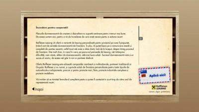 Raiffeisen Leasing- Splash Screen (website)