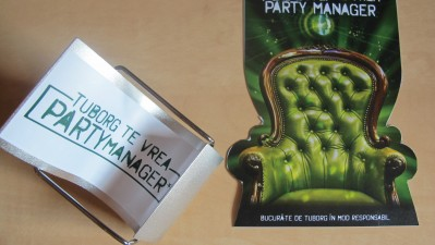 Tuborg - Te vrea party manager