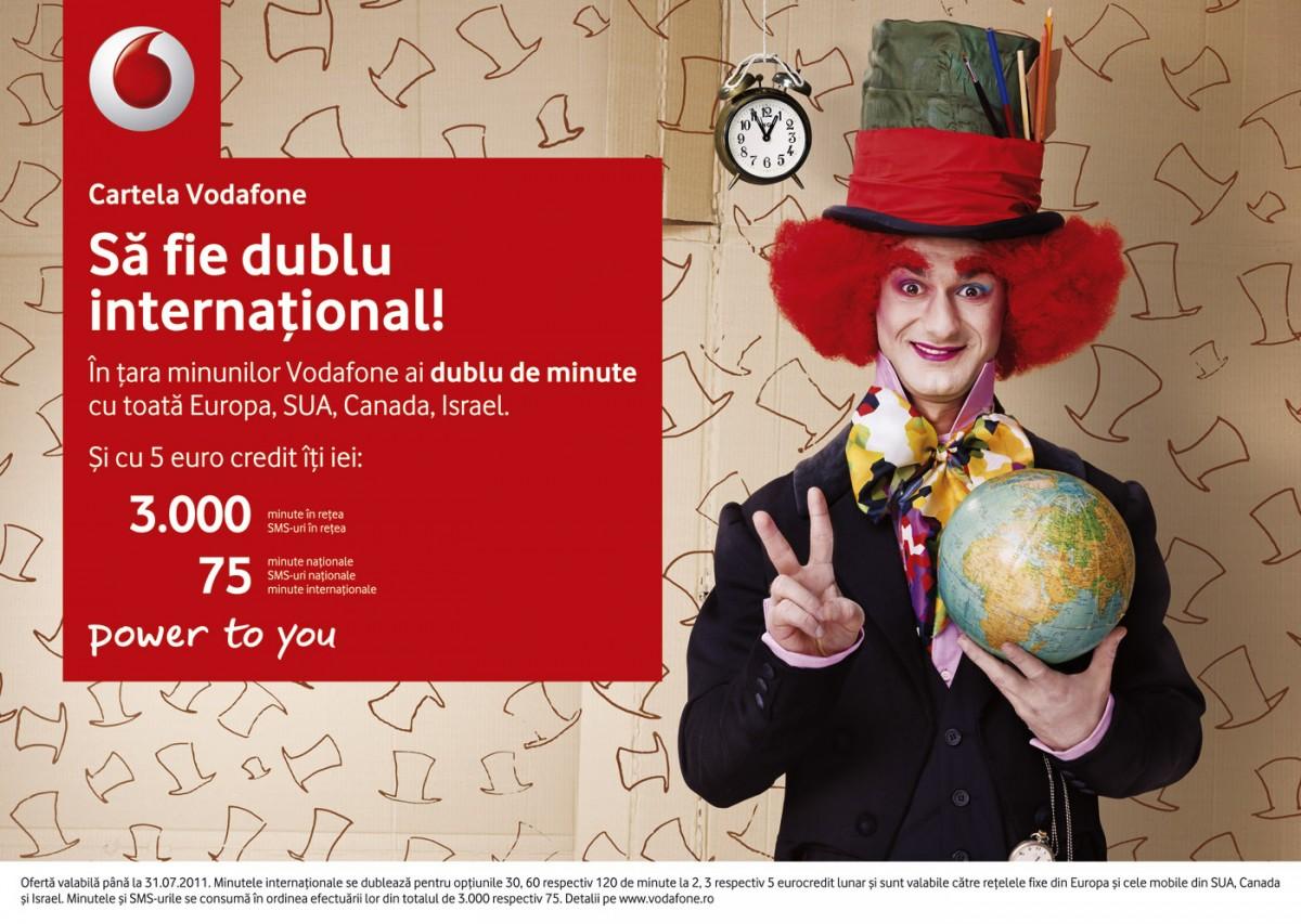 Vodafone Prepaid - Palarieul Nebun